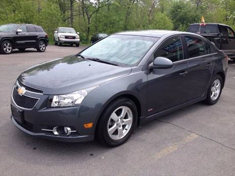 2013 Chevrolet Cruze for sale at Mark Regan Auto Sales in Oswego NY