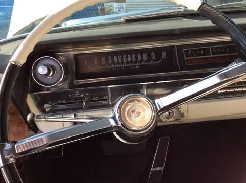 1964 Cadillac Eldorado for sale at Frank Corrente Cadillac Corner in Hollywood CA
