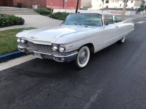 1960 Cadillac DeVille for sale at Frank Corrente Cadillac Corner in Hollywood CA