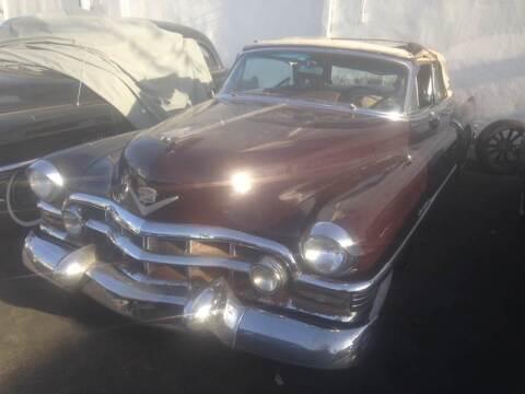 1952 Cadillac Eldorado for sale at Frank Corrente Cadillac Corner in Hollywood CA