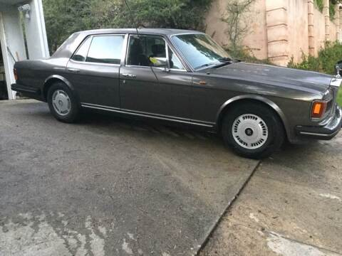 1981 Rolls-Royce Silver Spirit for sale at Frank Corrente Cadillac Corner in Hollywood CA