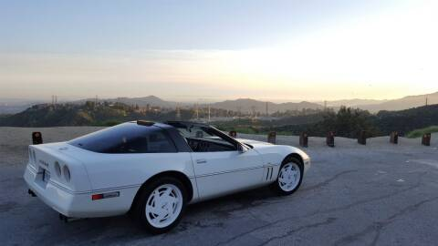 1988 Chevrolet Corvette for sale at Frank Corrente Cadillac Corner in Hollywood CA