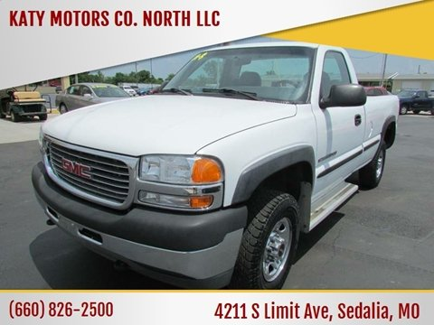 2001 GMC Sierra 2500HD for sale in Sedalia, MO