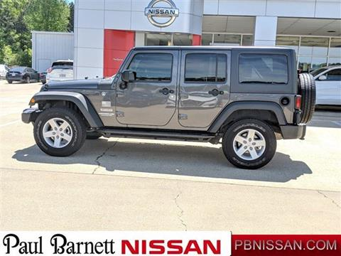 2017 Jeep Wrangler Unlimited for sale in Brookhaven, MS