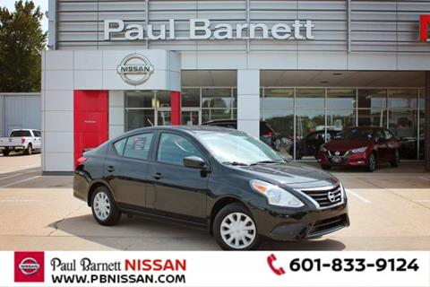 2019 Nissan Versa for sale in Brookhaven, MS