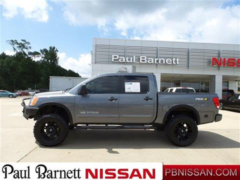 2013 Nissan Titan for sale in Brookhaven MS
