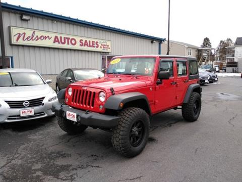2014 Jeep Wrangler Unlimited for sale in Ridgeley, WV