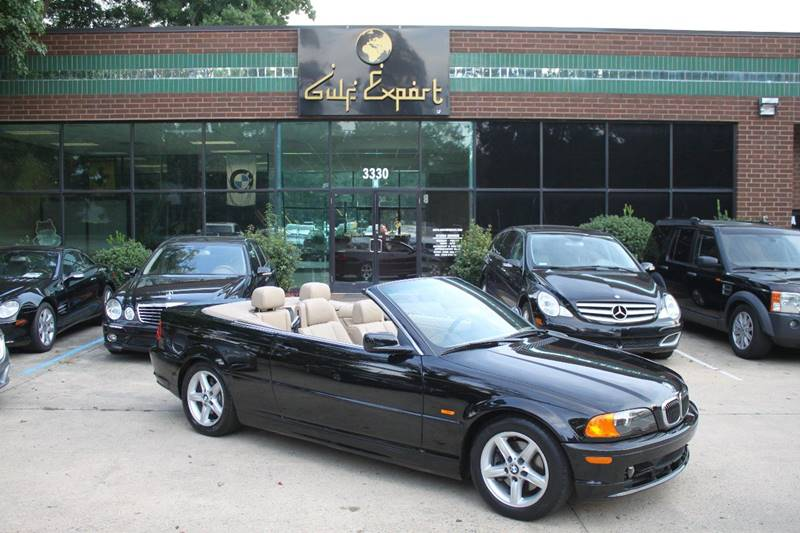 2002 Bmw 3 Series 325Ci 2dr Convertible In Charlotte NC - Gulf Export