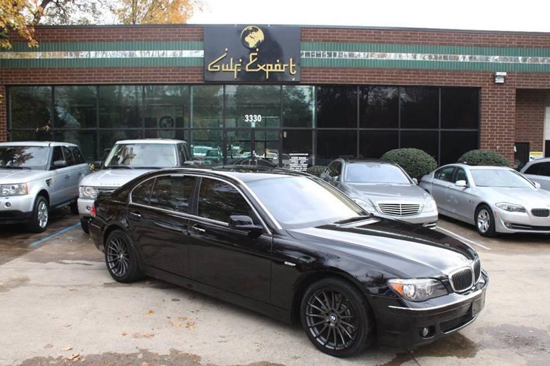 2007 bmw 7 series 750li 4dr sedan in charlotte nc gulf export. Black Bedroom Furniture Sets. Home Design Ideas