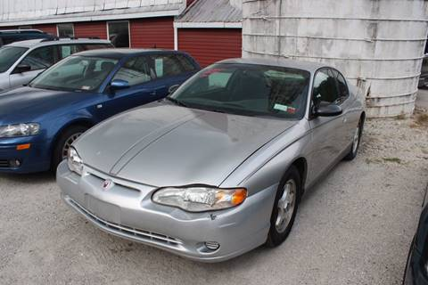 2005 Chevrolet Monte Carlo for sale in West Rutland, VT