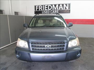 2003 Toyota Highlander for sale in Cleveland, OH