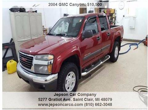 2004 GMC Canyon for sale in Saint Clair, MI