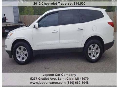 2012 Chevrolet Traverse for sale in Saint Clair, MI