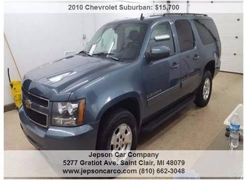 2010 Chevrolet Suburban for sale in Saint Clair, MI