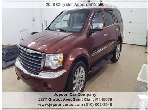 2008 Chrysler Aspen for sale in Saint Clair, MI