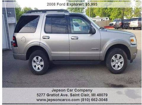 2008 Ford Explorer for sale in Saint Clair, MI