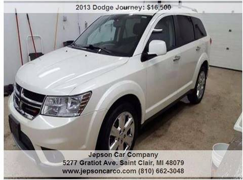 2013 Dodge Journey for sale in Saint Clair, MI