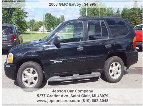 2003 GMC Envoy for sale in Saint Clair, MI