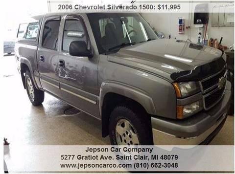 2006 Chevrolet Silverado 1500 for sale in Saint Clair, MI