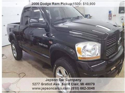 2006 Dodge Ram Pickup 1500 for sale in Saint Clair, MI