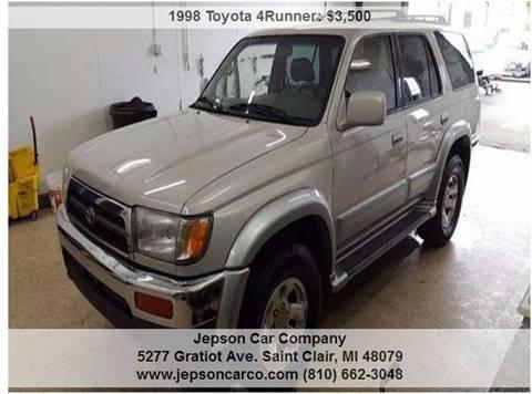 1998 Toyota 4Runner for sale in Saint Clair, MI