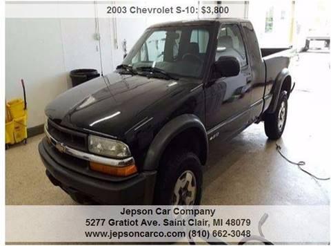 2003 Chevrolet S-10 for sale in Saint Clair, MI
