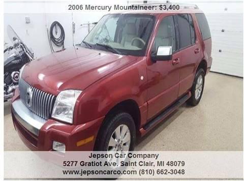 2006 Mercury Mountaineer for sale in Saint Clair, MI