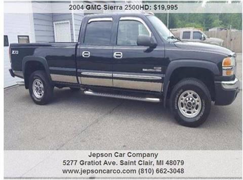 2004 GMC Sierra 2500HD for sale in Saint Clair, MI
