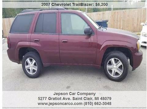 2007 Chevrolet TrailBlazer for sale in Saint Clair, MI