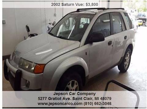 2002 Saturn Vue for sale in Saint Clair, MI