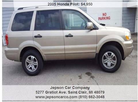 2005 Honda Pilot for sale in Saint Clair, MI