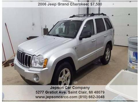 2006 Jeep Grand Cherokee for sale in Saint Clair, MI
