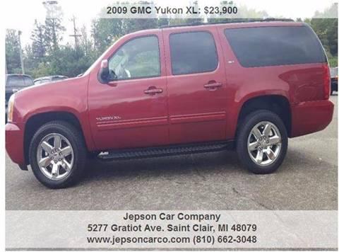 2009 GMC Yukon XL for sale in Saint Clair, MI