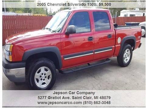 2005 Chevrolet Silverado 1500 for sale in Saint Clair, MI