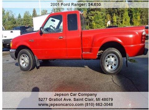 2001 Ford Ranger for sale in Saint Clair, MI