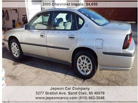 2005 Chevrolet Impala for sale in Saint Clair, MI