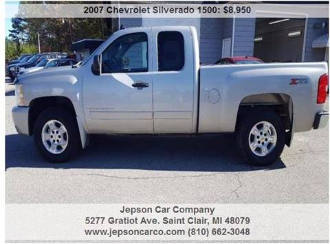 2007 Chevrolet Silverado 1500 for sale in Saint Clair, MI