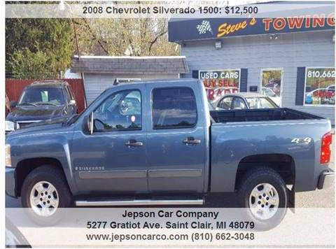 2008 Chevrolet Silverado 1500 for sale in Saint Clair, MI