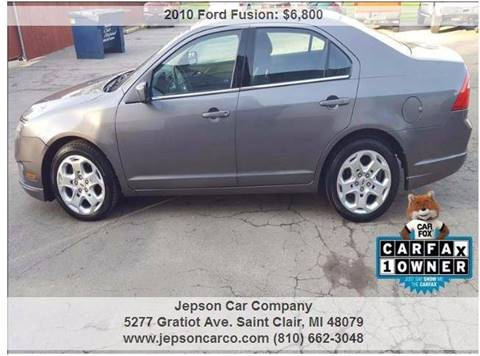 2010 Ford Fusion for sale in Saint Clair, MI