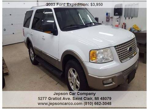 2003 Ford Expedition for sale in Saint Clair, MI