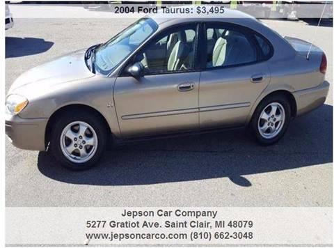 2004 Ford Taurus for sale in Saint Clair, MI