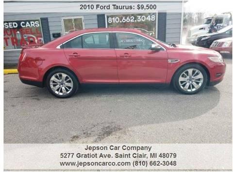 2010 Ford Taurus for sale in Saint Clair, MI