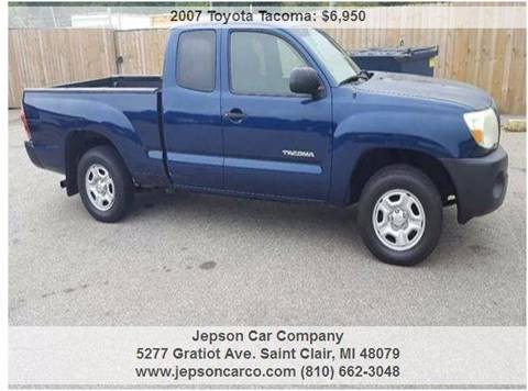 2007 Toyota Tacoma for sale in Saint Clair, MI
