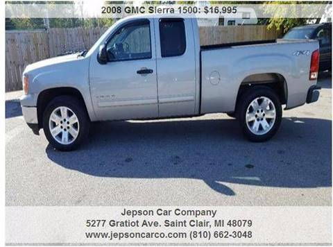 2008 GMC Sierra 1500 for sale in Saint Clair, MI