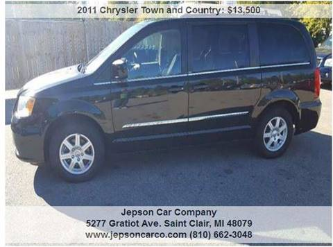 2011 Chrysler Town and Country for sale in Saint Clair, MI