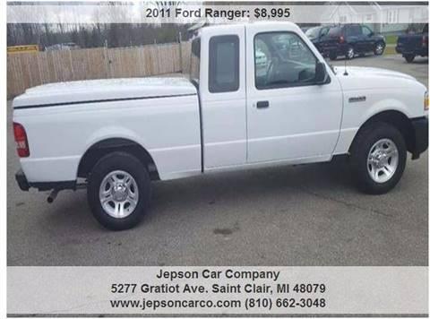 2011 Ford Ranger for sale in Saint Clair, MI