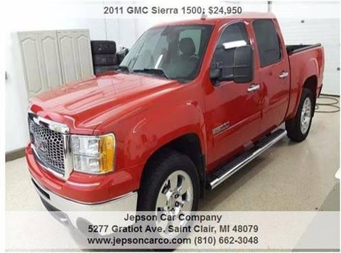 2011 GMC Sierra 1500 for sale in Saint Clair, MI