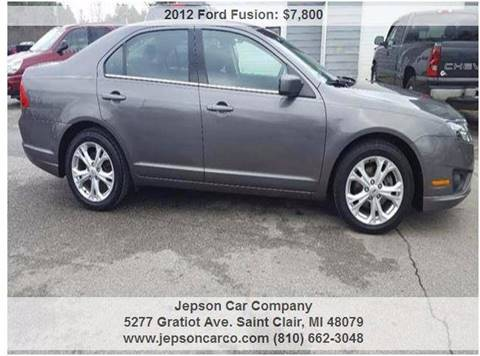 2012 Ford Fusion for sale in Saint Clair, MI