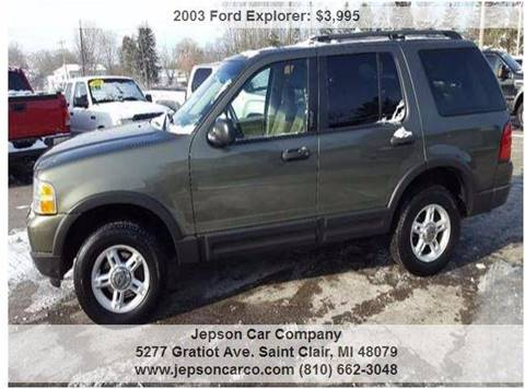 2003 Ford Explorer for sale in Saint Clair, MI