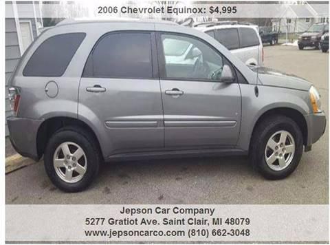 2006 Chevrolet Equinox for sale in Saint Clair, MI